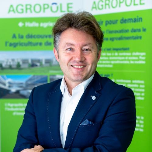 Stéphane Fankhauser, fondateur de l'Agropôle