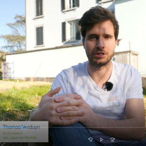 Cultiver des légumes en ville, en toiture ou sur les balcons : présentation de la startup les Légumes Perchés